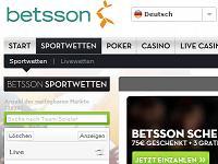 Betsson Sportwetten